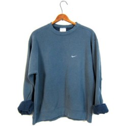 Faded Blue Nike Sweatshirt Washed Out Distressed - Etsy £23