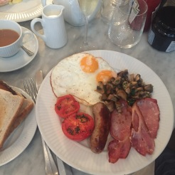 The Full English Breakfast from Cote Manchester
